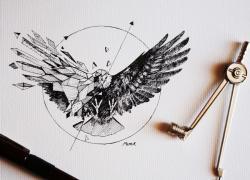Drawn hawk epic