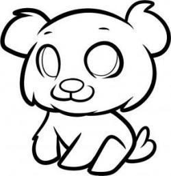 Drawn cub