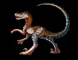 Drawn velociraptor deviantart