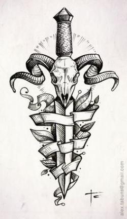 Drawn dagger famous