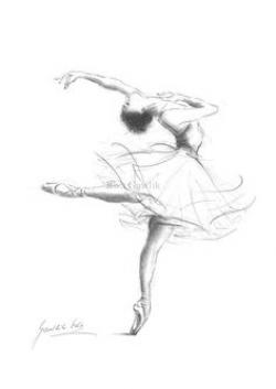 Drawn dancer