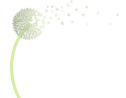 Dandelion clipart wishes