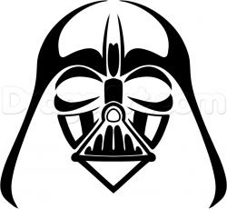 Darth Vader clipart drawing