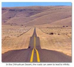Drawn desert west texas