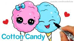 Cotton Candy clipart cute