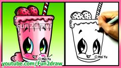Drawn milkshake easy