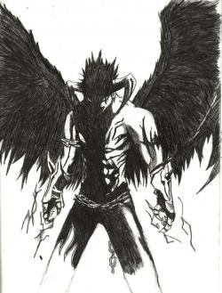 Drawn devil