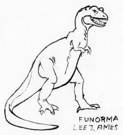 Drawn tyrannosaurus rex easy draw