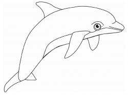 Dolphines clipart printable