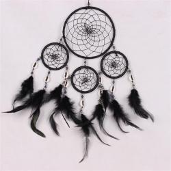 Drawn dreamcatcher circular