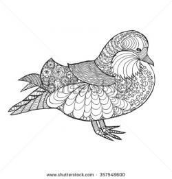 Mandarin Duck clipart