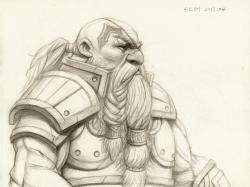 Drawn dwarf