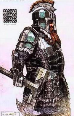 Drawn dwarf armoured