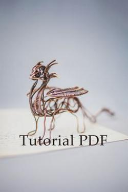 Drawn dying copper wire