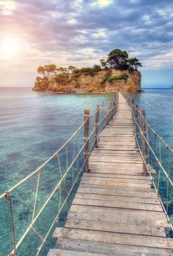 Drawn eiland greek island