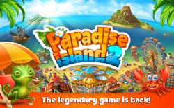 Drawn eiland paradise island