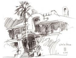 Drawn eiland sketch