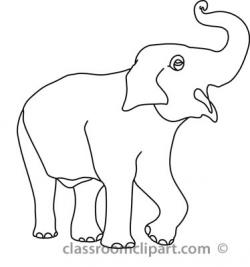 Asian Elephant clipart elephant trunk