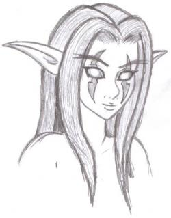 Drawn elf
