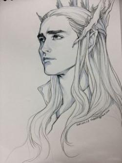 Drawn elfen the hobbit