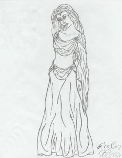 Drawn elfen lotr elf