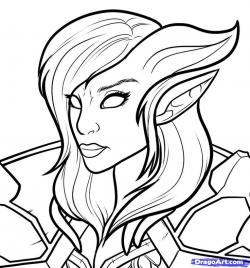 World Of Warcraft clipart blood elf drawing