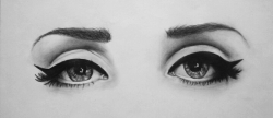 Drawn eye lana del rey
