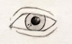 Drawn eyeball basic