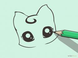 Drawn eye adorable