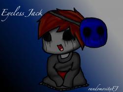 Eyeless Jack clipart chibi