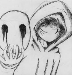Drawn eyeless jack deviantart