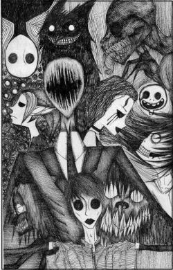Drawn slenderman