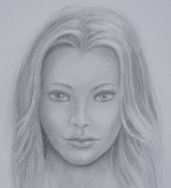 Drawn people face