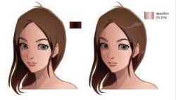 Drawn anime adobe illustrator