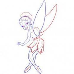 Drawn fairy