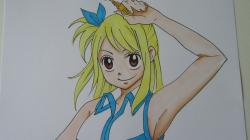 Drawn fairy tale lucy heartfilia