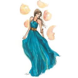 Drawn fashion