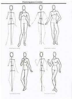 Drawn figurine step by step