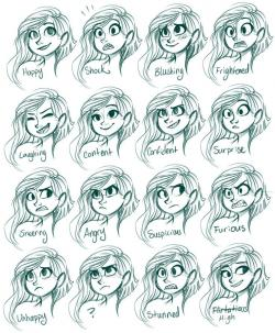 Drawn expression reference