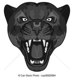 Fangs clipart angry