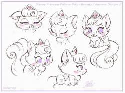 Drawn palace disney princess