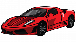 Drawn vehicle ferrari