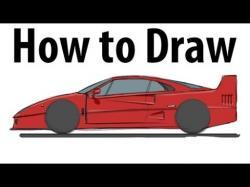 Drawn ferarri beginner