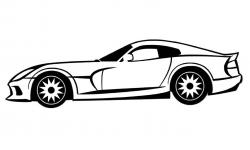 Drawn ferarri dodge viper