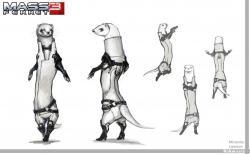 Drawn ferret mass effect