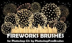 Drawn fireworks