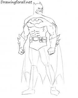 Drawn mussel batman