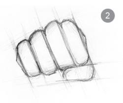 Drawn fist easy