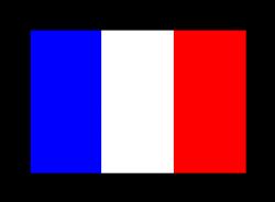 Drawn flag france flag