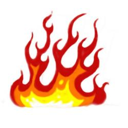 Flames clipart cool fire